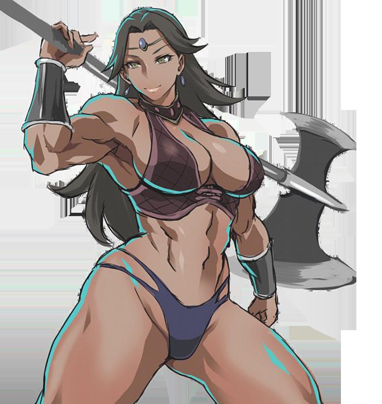 Amazon Warrior (The Stranded Barbarian)