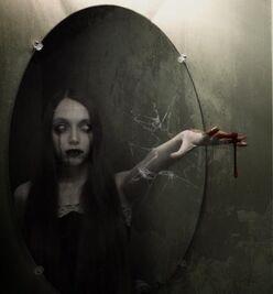 Mirror woman