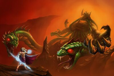 Zeus and typhon by tipitai dblimd7-fullview