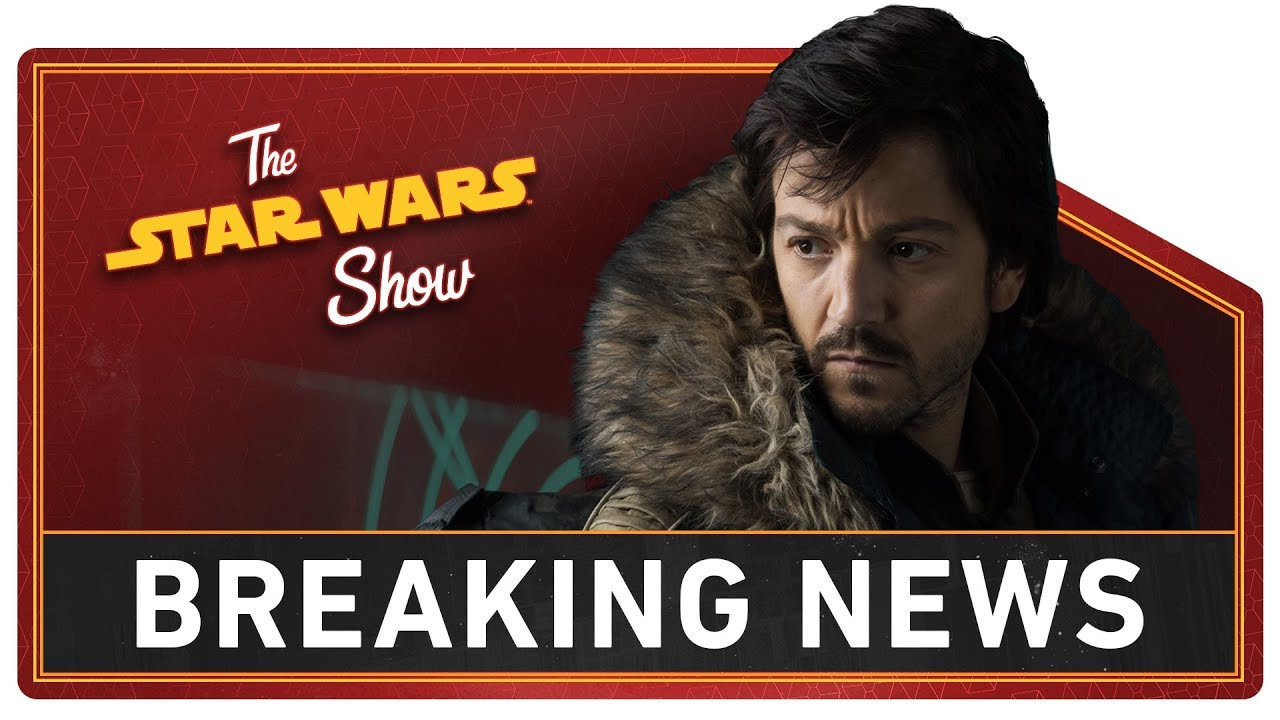 Cassian Andor Live-Action Series Announced! | The Star Wars Show