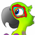 Fru, The Last Rainbow Macaw