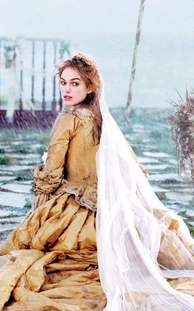 Elizabeth Swanns Hochzeitskleid