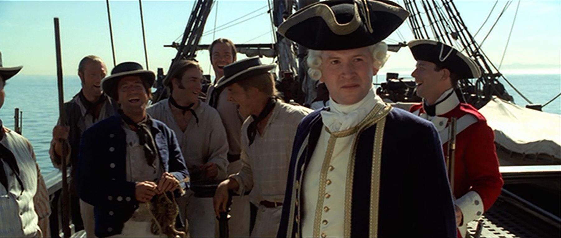 Crew der HMS Dauntless