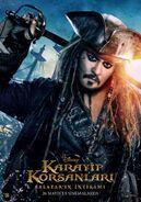 Jack Sparrow Fluch der Karibik 5 Poster 2