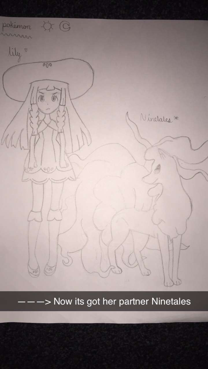 Lilly and Ninetales  🥰