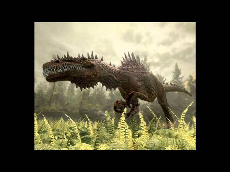Jurassic: The Hunted - Spinosaur Boss Theme