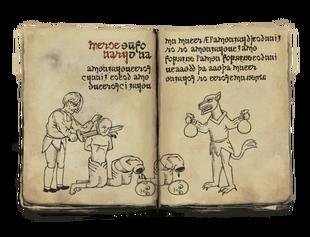 Book depiction
