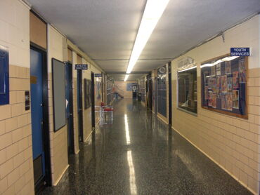 Hallway of Wood River.JPG