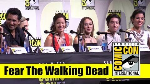 Fear the Walking Dead Comic Con 2016 Full Panel (Cliff Curtis and Kim Dickens)