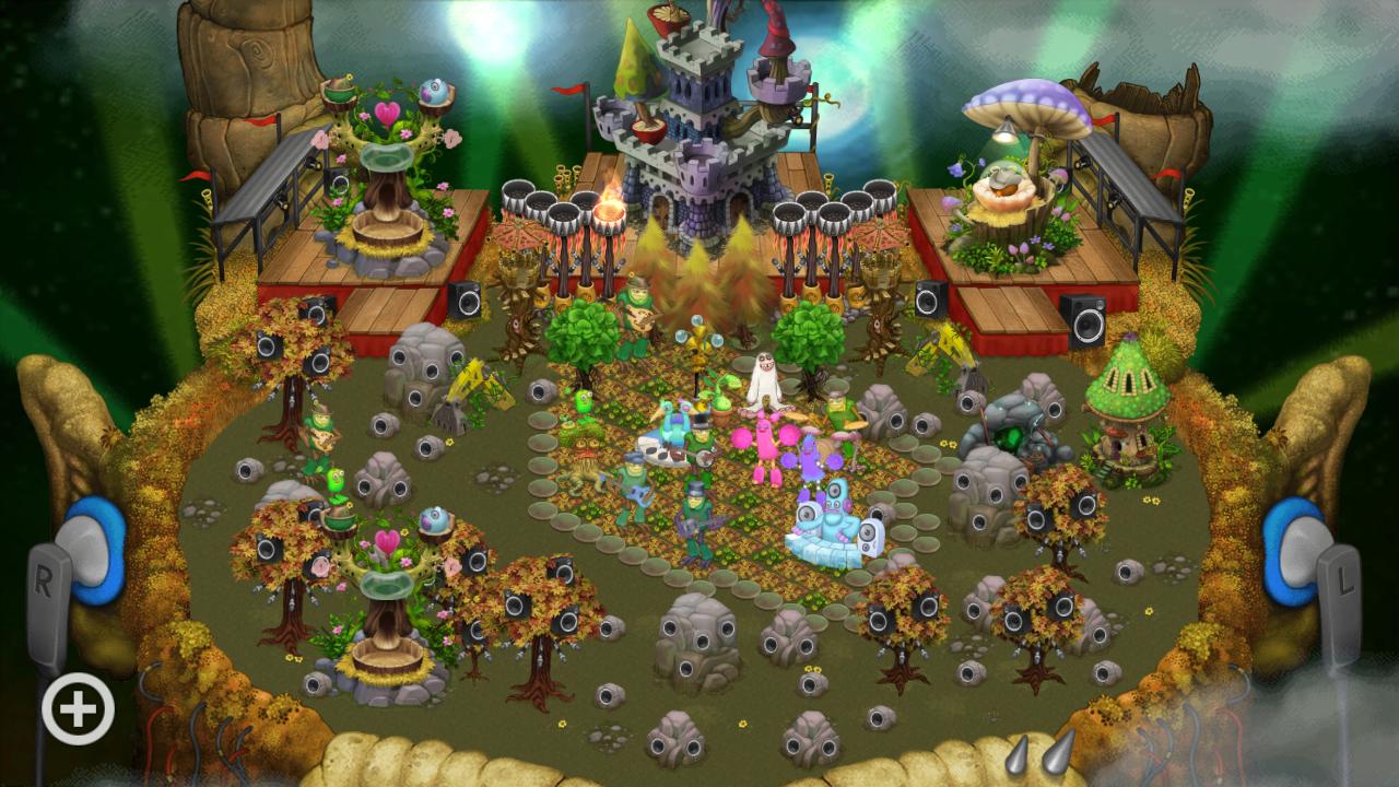 I also started shugabush island