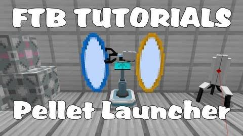High Energy Pellet Launcher