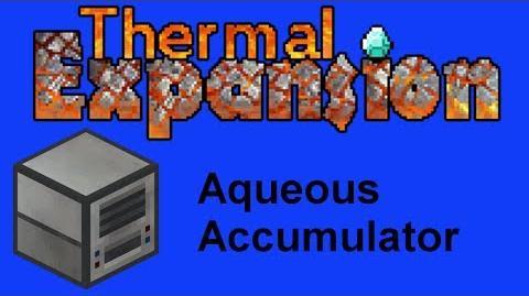 Aqueos Accumulator Tutorial Thermal Expansion