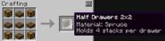 Half drawer 2x2