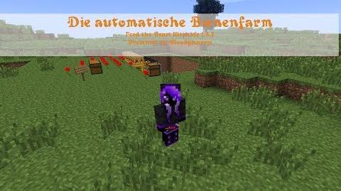 Minecraft FTB Bienenfarm Tutorial 1 (German Deutsch)