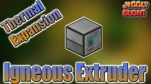 Igneous Extruder (Thermal Expansion) - Minecraft Mod Tutorial