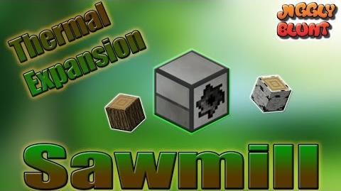 Sawmill (Thermal Expansion) - Minecraft Mod Tutorial