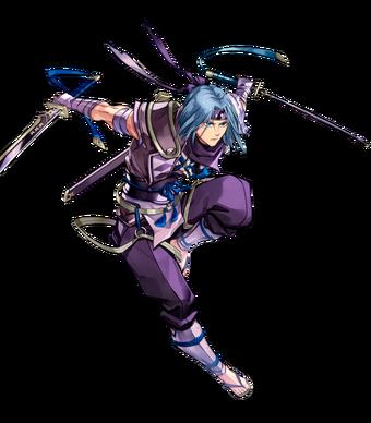 Zihark Ninja Blademaster BtlFace.webp
