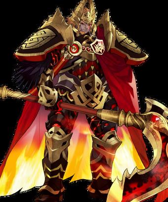 Surtr Ruler of Flame Face.webp