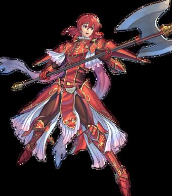 Minerva Red Dragoon BtlFace.webp