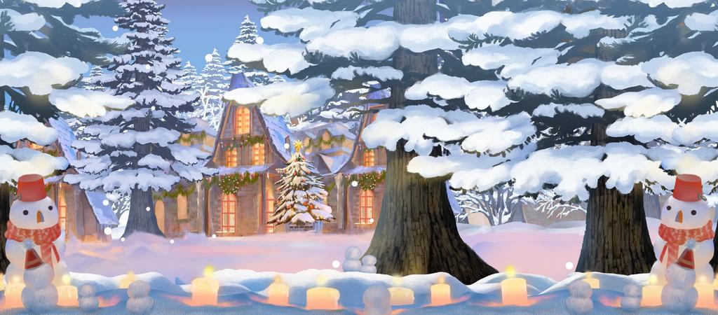 BG ChristmasForest.png