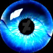 Light blue swirl eye enhanced by thesilentfall-d9i4vr8