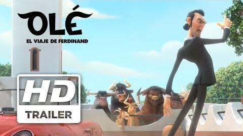 Olé El Viaje de Ferdinand Trailer 2 subtitulado
