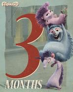 Una, Dos and Cuatro Poster