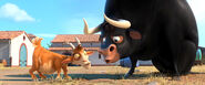 Lupe and Ferdinand watching Rabbit