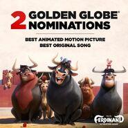 2 Golden Globe Nominatinons