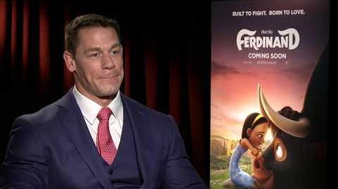 Ferdinand John Cena Exclusive Interview