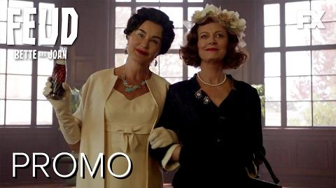 Cast Spotlight FEUD Bette and Joan Season 1 Promo FX