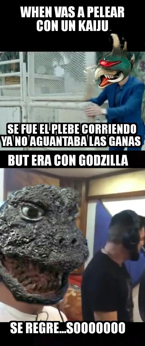 Godzilla vs gigan meme