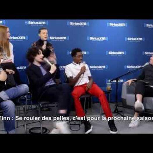 Le cast de Stranger Things parle de la saison 3 (Sirius XM) | VOSTFR Traduction Française