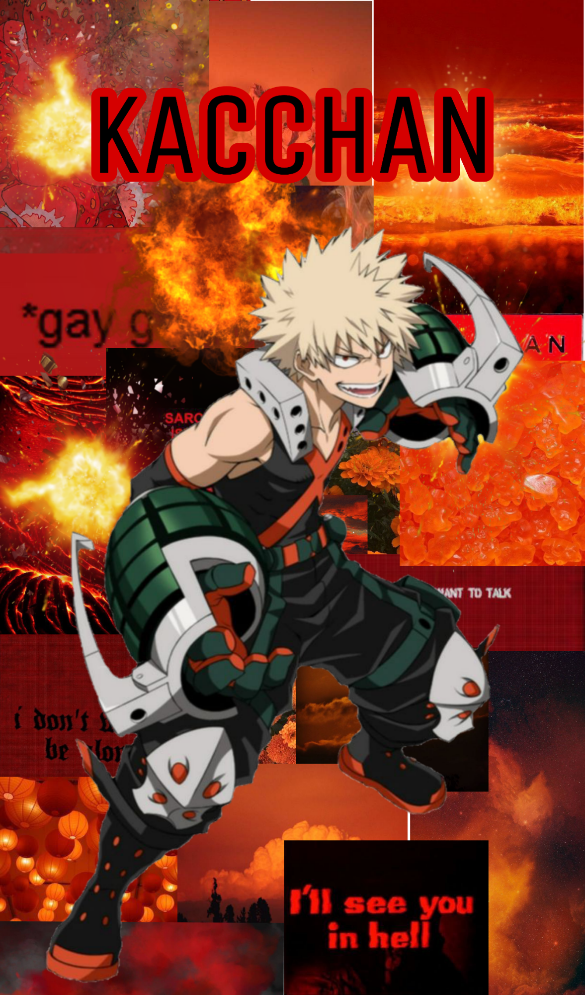 I Made A Kacchan Wallpaper Do You Like It ㅇㅅㅇ Fandom