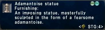 Adamantoise Statue