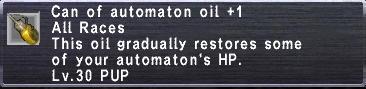 Automaton Oil +1