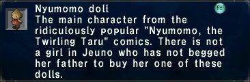 Nyumomo Doll
