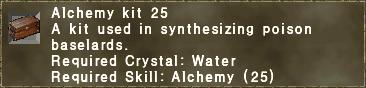 Alchemy Kit 25
