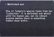 Malformed gun
