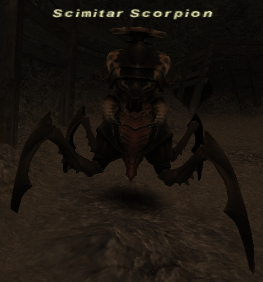 Scimitar Scorpion