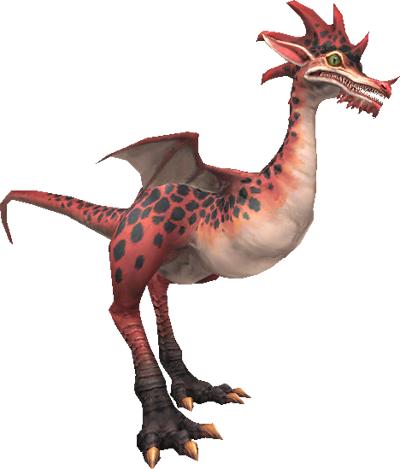 Vermilion Raptor (MON)