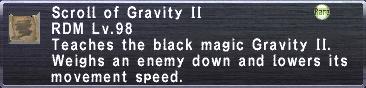 Gravity II