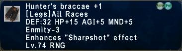 Hunter's Braccae +1