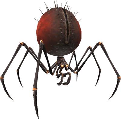 Vermilion and Onyx Spider (MON)