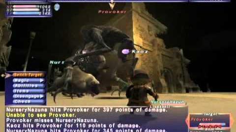 FFXI_NM_Saga_297_Provoker_vs_BST_Full_Battle