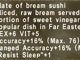Bream Sushi