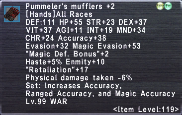 Pummeler's Mufflers +2