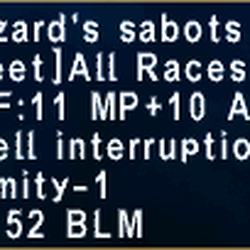 Wizard's Sabots