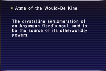 Atma of the Would-Be King