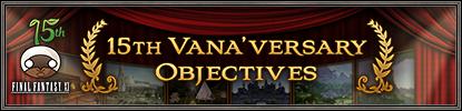 15th Vana'versary Objectives